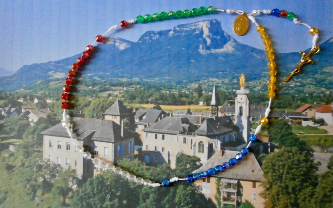 Prière du chapelet perpétuel pour le monde en Savoie